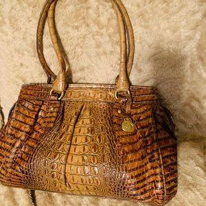 Brahmin croc embossed Shoulder Bag 💖
